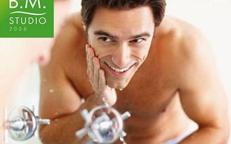 Speciální ošetření pro muže v každém věku za bezkonkurenčních 299 Kč! Celých 60 minut péče, včetně bezbolestného čištění pleti ultrazvukem s peelingem, speciální pastou, maskou a závěrečným krémem zakončené příjemnou masáží obličeje se slevou 50 %!