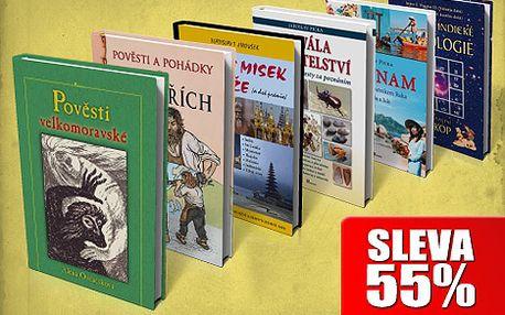 Kniha pod vánočním stromečkem vždy potěší. Vyberte si jeden z šesti titulů nyní jen za 100 Kč po 55% slevě!