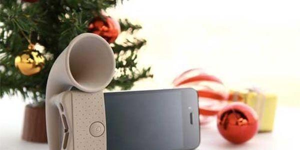 Báječný zesilovač a stojánek na iPhone v jednom! Jen nyní za 229 Kč! Úžasná novinka na Vánoce!