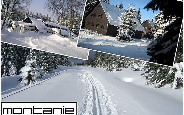 Romantika u Soušské přehrady! 3 DNY pro 2 OSOBY s POLOPENZÍ, s KÁVOU u romantického krbu a lyžováním v zimních Jizerkách!