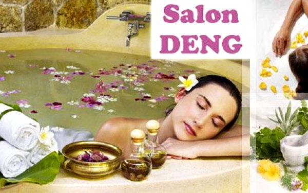 Bylinná koupel se zábalem a aromaterapeutickou masáží jen za 475 Kč. Příjemná, ozdravující a relaxační kúra v prvotřídním salonu DENG s 50% slevou!