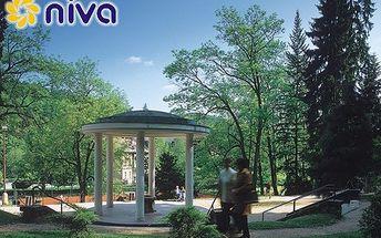 ZIMNÍ RELAXAČNÍ POBYT pro 2 osoby na 3 dny (2 noci) v Lázeňském domě NIVA I. v Luhačovicích s polopenzí a wellness procedurami jen za 3351 Kč! Díte do 5 let zdarma!