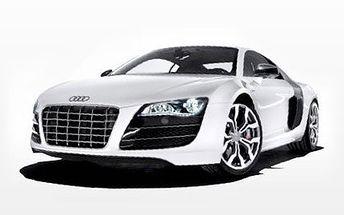 Milovníci rychlých aut a adrenalinu pozor! Jízda vozy Audi Vám rozšíří obzor. 70% sleva na jízdu vozy Audi R8, RS6 a RS4 v délce 30 minut. U vozů RS6 a RS4 můžete dopřát zážitek i dalším osobám, vzadu jsou 2 místa k sezení.