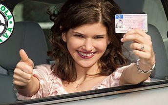 Poukaz na slevu Kurz k získání řidičského oprávnění A, nebo B v hodnotě 2000 Kč za pouhých 500 Kč! Řidičský průkaz, to je dárek na celý život.