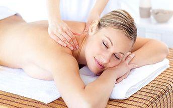 Léčebnou masáží proti bolestem zad! Sleva 50%