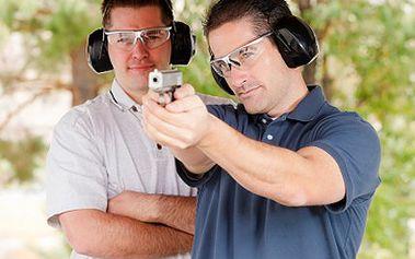 Přijeďte si vyzkoušet akční střelbu! Nabídka 7 různých zbraní včetně DESERT EAGLE 50. 54% sleva na střelbu se sedmi různými zbraněmi obsahující 60 nábojů.