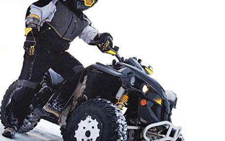 Zážitek plný adrenalinu! Půjčte si čtyřkolku a projeďte si krajinu. 55% sleva na hodinový okruh krajinou Lužických hor na čtyřkolce pro jednu či dvě osoby. V ceně je zahrnuto palivo i instruktor na vedoucí čtyřkolce.