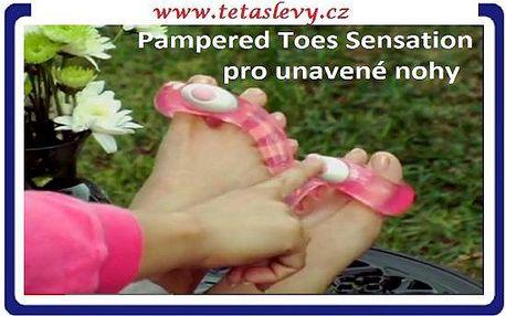 Darujte k vánocum zdraví.Skvělý pampered toes pro masáž nohou SADA 6ks za 209kč