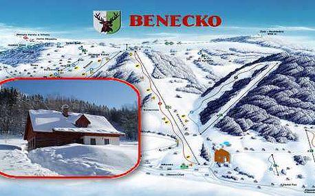 Týdenní zimní pobyt v roubených chalupách Sněženka a Rozárka pro rodiny a přátelé v blízkosti sjezdovek v centru Krkonoš za méně než 1700 Kč na osobu!!! a sleva na skipas 21%.