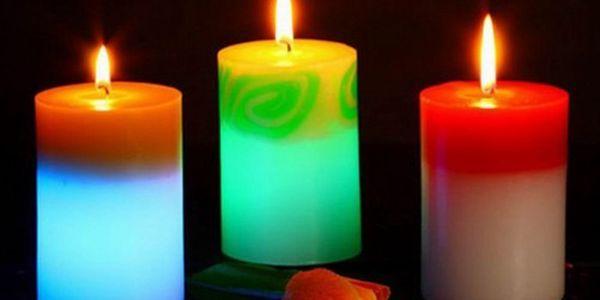 Magická SVÍČKA měnící při hoření barvu za kouzelných 99 Kč přemění škrtnutím sirky Váš domov v neopakovatelné místo! Na výběr 4 různé tvary. Skvělý dárek pro Vaše blízké!