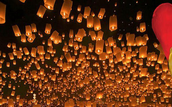 Silvestr se blíží! Jedinečná nabídka nádherných lampiónů - 10 ks létajících lampiónů štěstí!