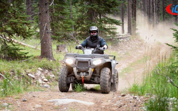 ZAŽIJ SI ZÁŽITEK ALL INCLUSIVE 1 hodina adrenalinové jízdy na terénní čtyřkolce za 2 755 Kč. Osedlejte i něco jiného než fádní motorku, či kolo s 40 % HyperSlevou.