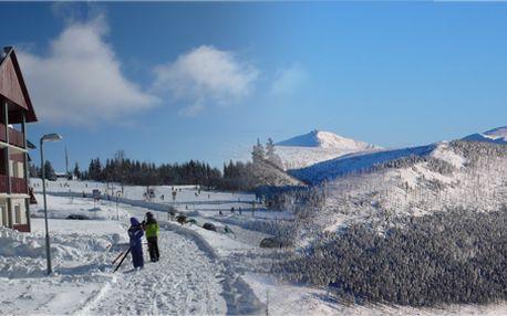 Týdenní pobyt v zařízených apartmánech až pro 5 osob přímo v centru ski areálu Špindlerův Mlýn! Apartmány jsou v nadmořské výšce 1035 m n.m.! Z pokoje rovnou na sjezdovku!