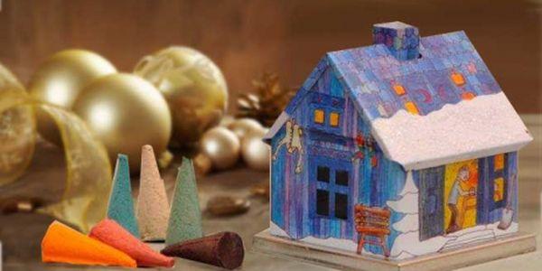 Pouhých 99 Kč za originál německé vonné františky s exklusivním domečkem. Provoní Váš domov jedinečnou vůní a vytvoří tu správnou vánoční atmosféru.