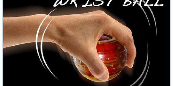 Dokonalá a nezkrotná posilovací pomůcka WRIST BALL - Vyzkoušejte i Vy a zažijte úžasný pocit síly.