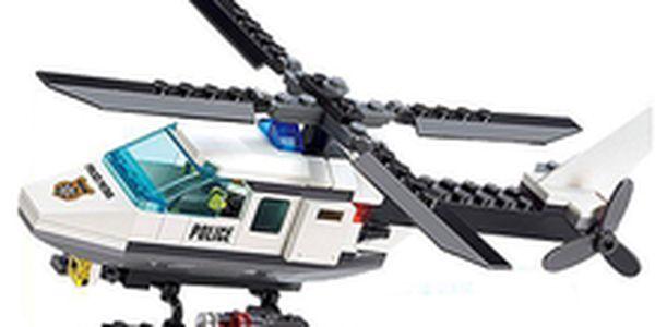 299 Kč místo 620 Kč - Policejní vrtulník pro všechny kluky! Stavebnice, srovnatelná s legendárním legem, se slevou 69 %. Poštovné v ceně!