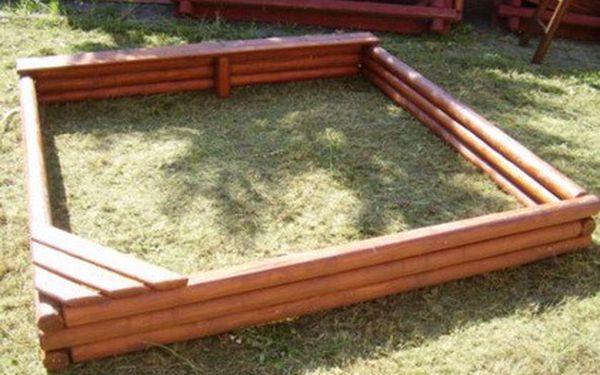 Kvalitní dřevěné dětské pískoviště ve třech velikostech. Využijte vánoční slevu.