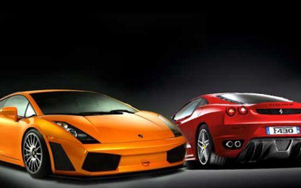 Splň si svůj sen a projeď se v luxusním supersportu Lamborghini Gallardo! Poznej ten pocit, kdy se řítíš rychlostí 315km/h! Spousta koní pod kapotou, dravý zevnějšek a luxusní interiér...to je Lamborghini Gallardo! Cena 999 Kč!