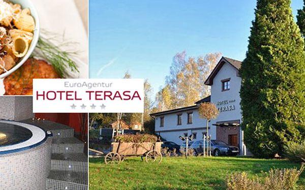 2 490 Kč za 3denní wellness pobyt pro DVA v hotelu Terasa**** s výhledem na Beskydy. Luxusní wellness, výborné jídlo a sportovní aktivity se slevou 60 %!
