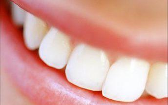 Toužíte mít zoubky jako perličky? Nabízíme vámčištění a malé bělení zubů jen za 499 Kč a velké bělení, po kterém vaše zuby budou až od 4 odstíny světlejší, jen za 1999 Kč. Využijte této skvělé akce a dodejte Vašemu úsměvu dokonalost! Tip na dárek.