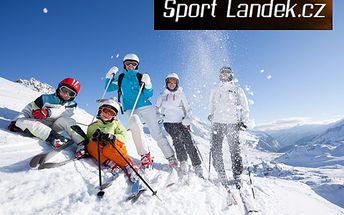Výuka lyžování s 56% slevou: 60minutová lekce za 219 korun!