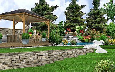 Kupte vánoční poukaz na PROJEKTOVOU STUDII ZAHRADY. Navrhneme ji dle Vaší představy! 50% sleva na návrh nové zahrady včetně osazovacího plánu se jmenným seznamem rostlin, 3D vizualizace a 3 návštěvy zahradního konzultanta.