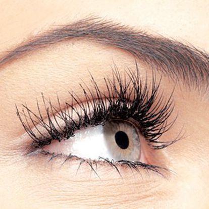 Zkrášlete se permanentním prodloužením řas! Výsledný efekt ohromí Vás. 74% sleva na prodloužení a zhuštění řas, jsou ultra lehké, voděodolné a na očích je necítíte. Získejte svůdný pohled.