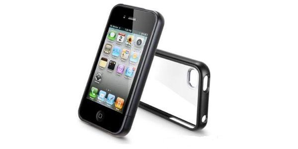 Ochranný boční kryt pro iPhone 4 - černá nebo bílá !! Vánoční cena jen na Slevoviny.cz - 299 Kč!!! Bomba!!