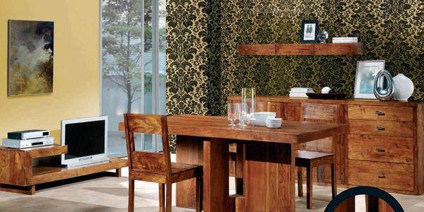 1.380,- Kč za sadu tří luxusních stolků z asijského palisandru od Royal Wood! Exkluzívní nabídka exotického nábytku!