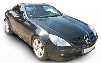 Usedněte za volant pořádného vozu. Vyrazte na vzrušující jízdu do provozu. 73% sleva na řízení sporťáku Mercedes Benz SLK na 2 hodiny.