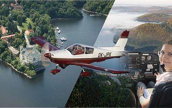 Ideální zážitková akce pilotem na zkoušku! Zjistěte, jaké to je pilotovat letadlo! Zažijte pořádnou dávku adrenalinu!