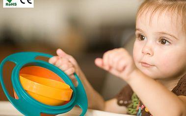 Kouzelná miska pro děti GYRO BOWL