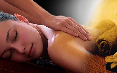 Relaxační masáž celého těla ve 2 hodinách, ve kterých zapomenete na stres. Darujte pod odpočinek a reaxaci!