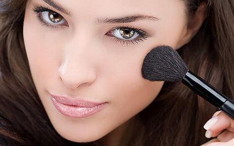 Individuální kosmetický MINIKURZ LÍČENÍ A PÉČE O PLEŤ za skvělých 135 kč. Kurz trvá 120 minut. Využijte 70% slevy a naučte se, jak zdokonalit svůj vzhled perfektním nalíčením a správnou péčí o pleť.