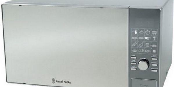 Pouhých 2740 Kč za mikrovlnnou troubu RUSSELL HOBBS 15146-56! Tato mikrovnka má v sobě zároveň i gril! Pořiďte za supr cenu sobě nebo svým blízkým jako vánoční dárek!