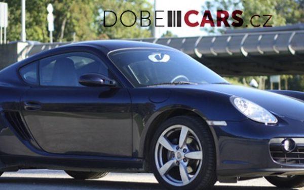 449 Kč za 30minutovou nadupanou jízdu sporťákem Porsche Cayman! Luxusní ďábel se slevou 74 %.