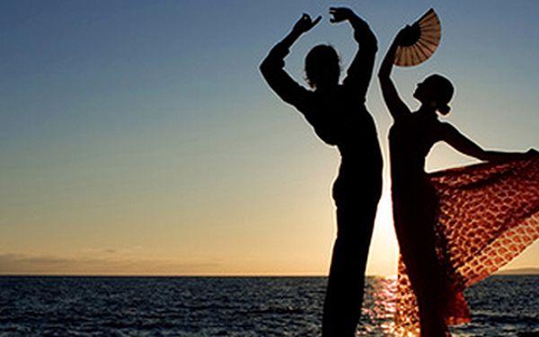 Kurz Flamenca (16 týdnů) za pouhých 1680 Kč! Naučte se tančit s vášní a elegancí ve studiu Happy Time.