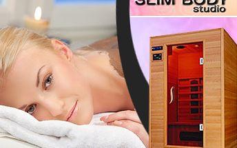 Jen 198 Kč: Balíček sauny a zábalů 2x 30 minut infrasauny + 2x skořicový zábal