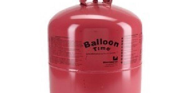 Helium 420l!!! Velká bomba až pro 50 balonků, nebo 3-4 létající ryby!!! K dodání ihned!