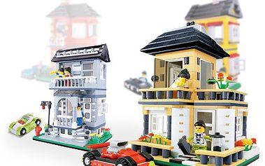 Kupte dětem stavebnici s níž se zabaví! Domečky Wange splní očekávání. 50% sleva na stavebnici značky Wange- rodinné domky, která umožní dětem rozvíjet se a hrát si v imaginárním světě.