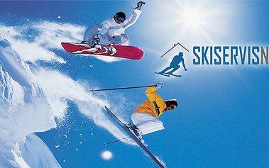 Kompletní servis sjezdových lyží a snowboardu v autorizovaném ski-servisu! Připravte se na sezónu!