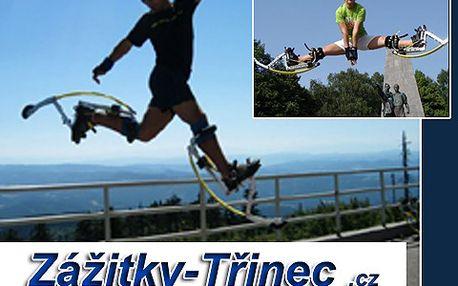 Hodina na skákacích botách za 99 Kč! Třímetrové kroky a skákání 2 metry vysoko!