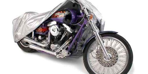 Dokonalá pláštěnka na motorku nebo kolo, ochrání Vašeho miláčka jen za 179 Kč! Kvalitní plachta ideální proti nečasu