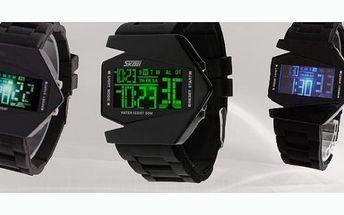 Chcete být originální? Být jediní ve Vašem okolí, kdo se může pyšnit hodinkami ve stylu Letadla? Využijte 52% slevu na tyto moderní hodinky!!