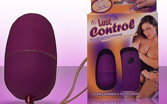 Jak si diskrétně užívat vzrušení? Vyzkoušejte vibrační vajíčko s rádiovým dálkovým bezdrátovým ovládáním a deseti odlišnými stupni vibrací za skvělých 1245 Kč! Vzrušující sleva 51 %!