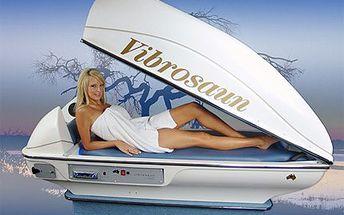 Relaxujte ve vibrosauně. Suchý horký vzduch působí výborně! 50% sleva na vibrosaunu multifunkční wellness přístroj s kombinací několika léčebných a zeštíhlujících procedur.