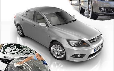 Vaše vozidlo rychlostí blesku dostaneme do nového lesku! 50% sleva na ruční mytí karoserie Vašeho vozu, šamponování s voskem, čistění mezidveřních prostor, umytí oken a disků kol.