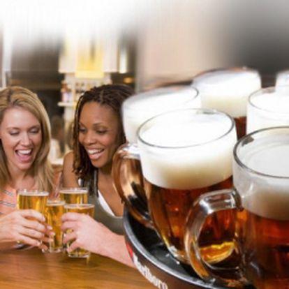 Super akce pro všechny pivaře! NEOMEZENÁ KONZUMACE PIVA jen za 199 Kč! Každý den od 16:00 do 20:00 v příjemném baru v centru Prahy! Sleva 67%! Na zdraví!