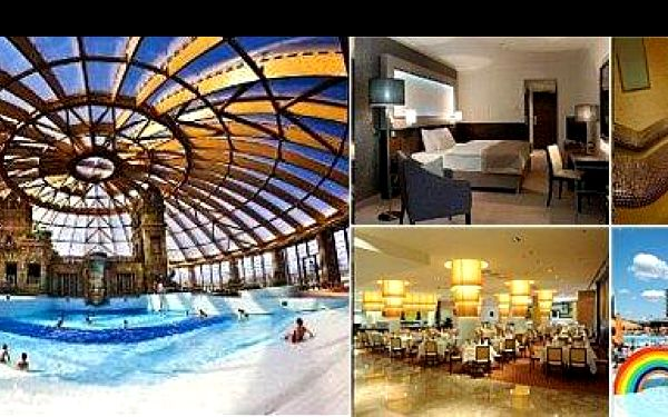 3 999,- Kč za luxusní dovolenou v kulturou nabité Budapešti na 3 dny pro 2 osoby v hotelu RAMADA****, s 50% slevou na vstup do aquaparku, nyní s 50% slevou.