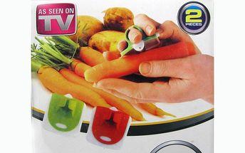 Univerzální škrabka na zeleninu 2 ks - EZ PEEL za neuvěřitelnou cenu 99 Kč, díky tomuto pomocníkovi bude čištění zeleniny hračka!